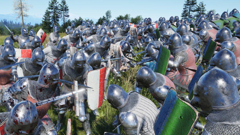 Manor Lords Kampf Schlacht epische Schlacht grosse Schlachten