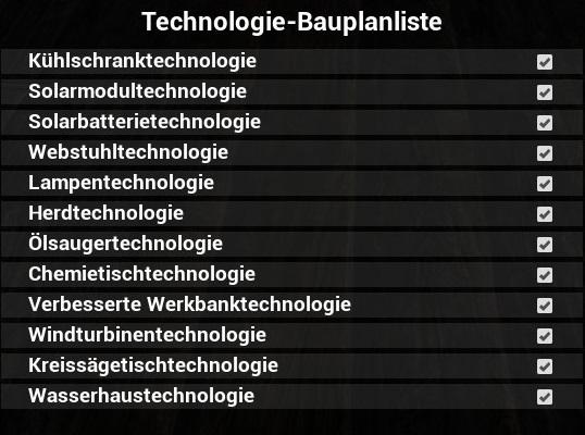 The Infected Tech Techs Blueprints